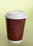Coffee disposable cup Stock Image