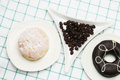 Coffee Donut Stock Images