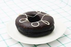 Coffee Donut Stock Photo