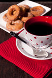 Coffee and donuts Royalty Free Stock Images