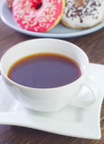 Coffee and donuts Royalty Free Stock Photo
