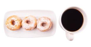 Coffee And Doughnut IV Royalty Free Stock Photos