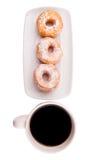 Coffee And Doughnut IX Stock Photos