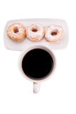 Coffee And Doughnut VIII Stock Photography