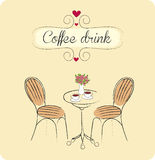 Coffee drink Stock Images