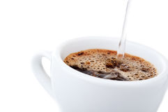 Coffee drink in cup Stock Photography