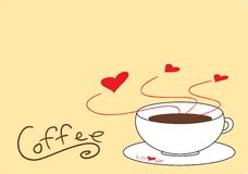 Coffee Drink Love Stock Photo