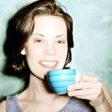 coffee drinking Στοκ Εικόνες