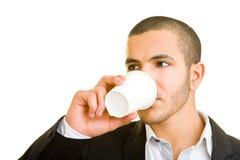 coffee drinking Στοκ εικόνα με δικαίωμα ελεύθερης χρήσης