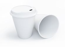 Coffee drinking cup Stock Photography