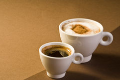 Coffee drinks Stock Images