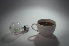 Coffee. Drinks modeled using the notion of difference Stock Images