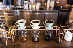 Coffee drip Royalty Free Stock Photography