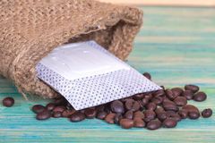 Coffee drip package Stock Photography