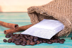 Coffee drip package Stock Images