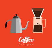 Coffee Dripper Equipments. Royalty Free Stock Photography