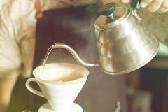 Coffee dripping Royalty Free Stock Images
