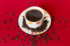 Coffee drops Royalty Free Stock Images
