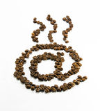 Coffee E-mail Royalty Free Stock Images