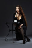Coffee and elegance Stock Photography