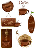 Coffee Elements Royalty Free Stock Photo