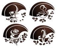Coffee elements Stock Photo