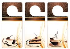 Coffee. Elements for design. Stock Images