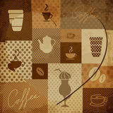 Coffee elements Stock Images