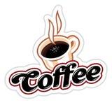 Coffee emblem Royalty Free Stock Photos