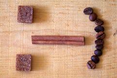 Coffee emoticon Stock Photography