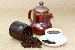 Coffee energy Royalty Free Stock Image