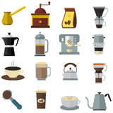 Coffee Equipments Set Royalty Free Stock Image