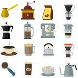 Coffee Equipments Set Royalty Free Stock Image