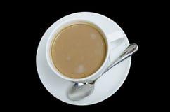 Coffee. Espresso on Black background Royalty Free Stock Image