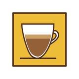 Coffee espresso icon image. Illustration design Stock Photo