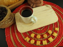 Coffee espresso lover. Stock Image