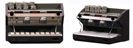 Coffee espresso machine Royalty Free Stock Photos