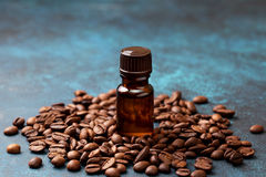 Coffee essential oil Royalty Free Stock Photos