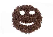 Coffee Face Royalty Free Stock Photo