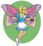 The Coffee Fairy Stock Image
