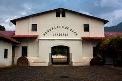 Coffee farm La Azotea. Antigua Guatemala Royalty Free Stock Photo