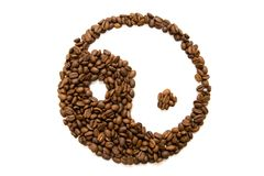 Coffee feng shui Royalty Free Stock Images