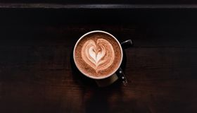 Coffee Fever Royalty Free Stock Image