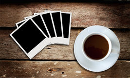 Coffee and film Stock Images