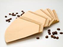 Coffee-filter royalty free stock photos