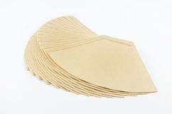 Coffee filter Stock Images