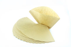 Coffee filter Royalty Free Stock Photos