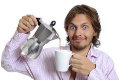Coffee fix Stock Image
