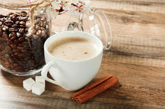 Coffee flavored Stock Photo