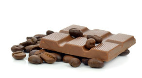 Coffee flavoured chocolate Royalty Free Stock Photo